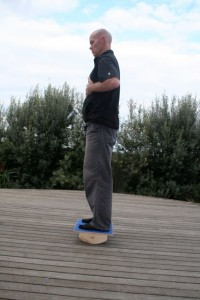 rockerboard bilateral stance